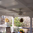 Porch Coffered Ceiling