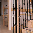 Volute With Iron Balusters
