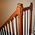 1/2 Newel Close-Up