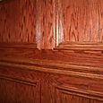 Office Oak Wall Treatment