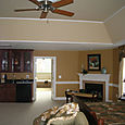 Tray Ceiling with 2 runs of panel moulding