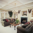 Coffered Family Room Ceiling