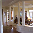 Ceiling Trim with round center & 4 sections