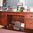 Oak Desk  1of2