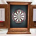Oak Dartboard Cabinet  ( 1 of 3)