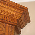 Corner Cabinet Crown Detail