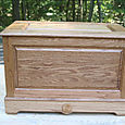 Oak Toy Chest - 1of3