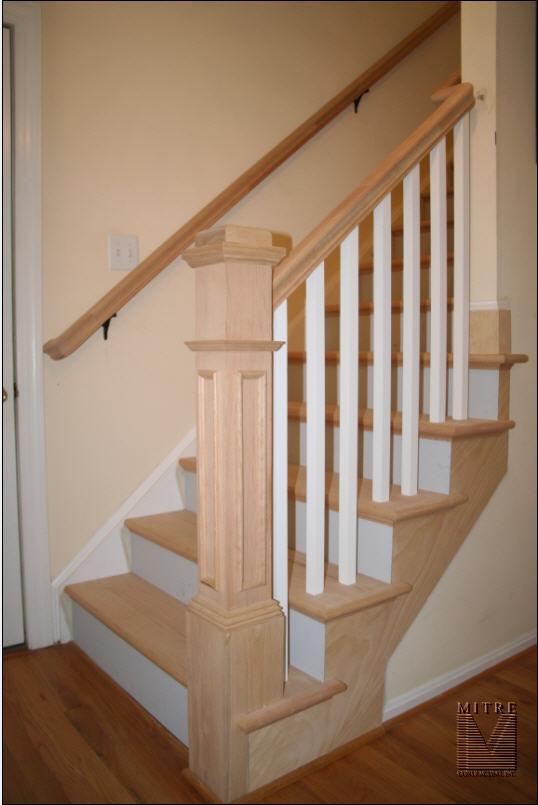 Stairway Remodel Mitre Contracting Inc