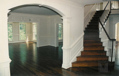 Custom Cased Opening- Ceiling Height with Keystones