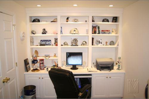Computer room built-ins