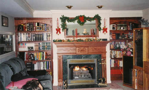 Built-Ins and Mantel in Fairfax, VA