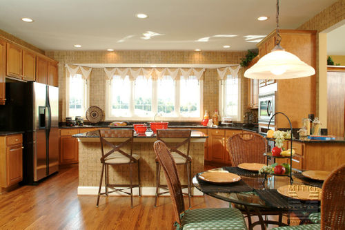 Kitchen Install for Quaker Custom Homes