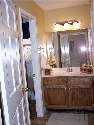 Bathroom makeover..,new vanity,tops,painting,fixtures