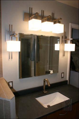 Master bathroom remodeling - after picture