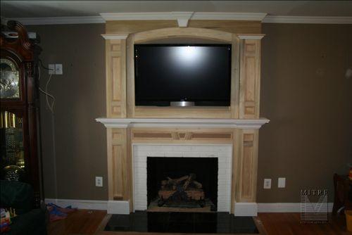Fireplace Mantel & Overmantel Surround