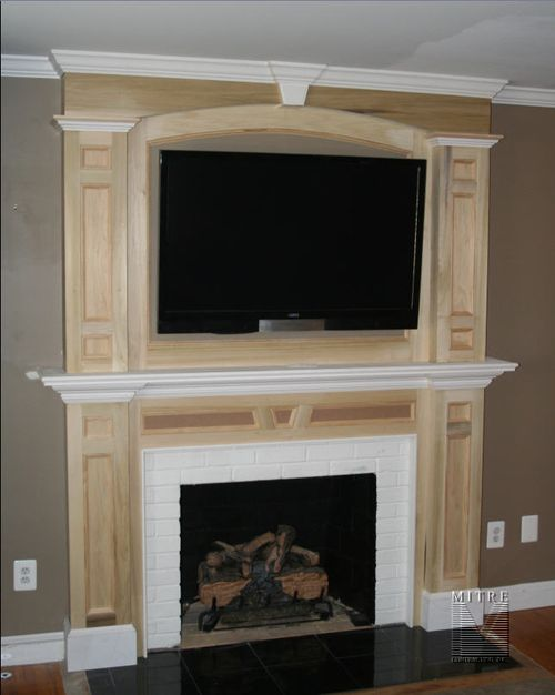 Fireplace surrounds and mantels Fireplace surround ideas