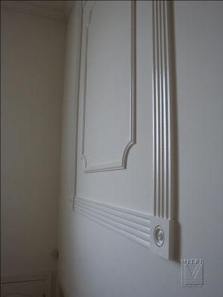 Moulding CloseUp of Decorative Wall Panels