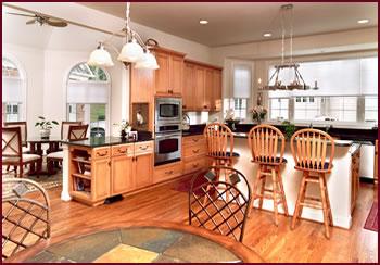 Kitchen installation in Woodbridge, Omega Dynasty Custom Cabinetry