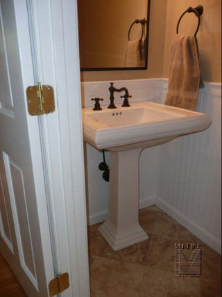 Powder Room Bath Remodel