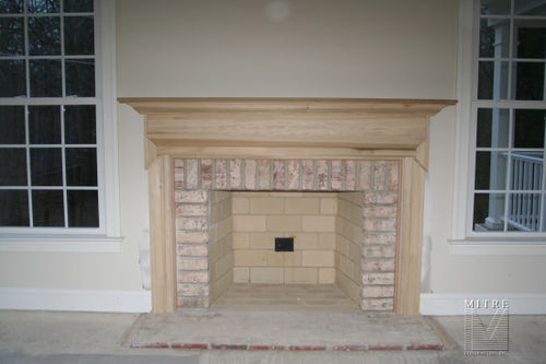 mantels surrounds mitre contracting inc rh mitrecontracting com  crown moulding fireplace mantel