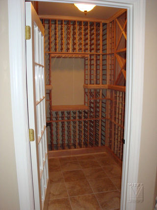 Wine Cellar installation in Newton, PA