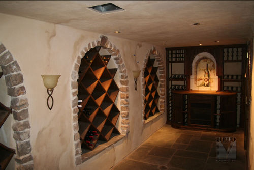 Wine Cellar installation in Middleburg, VA