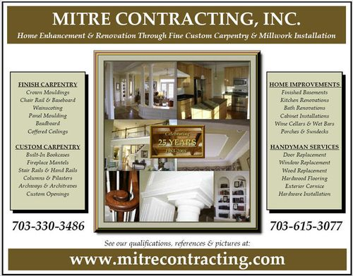 Mitre Contracting, Inc. Flyer