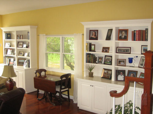 Built-In Cabinetry - Bookcases