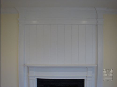 Fireplace Mantel & Surround