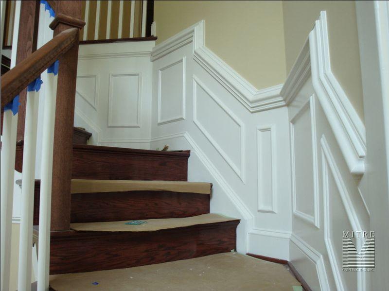 Stair Wainscot