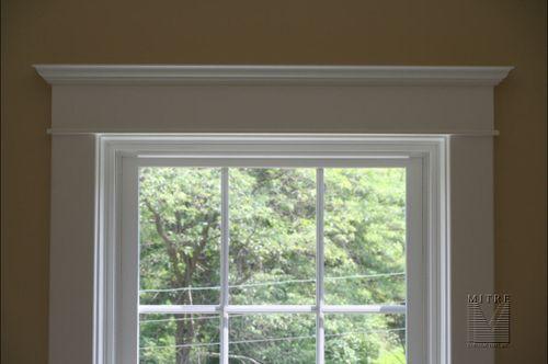 Window Entablature & Casing Detail