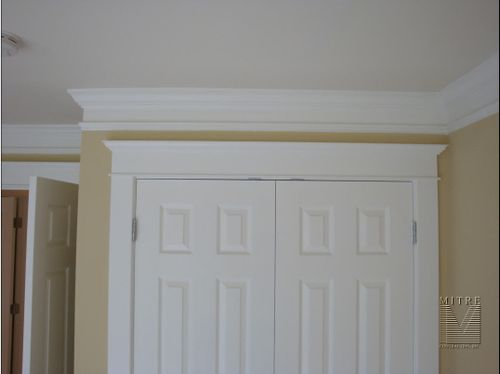 Door Casings & 2 piece Crown Moulding