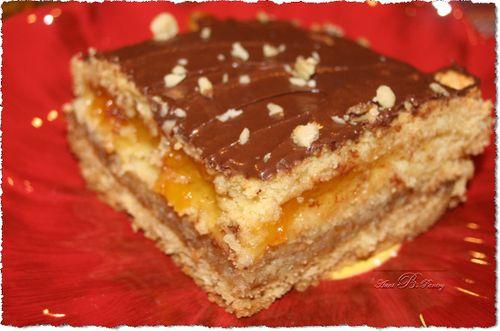 Apricot Cake Slice