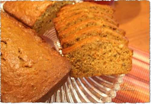 Bananna Nut Carrot Bread