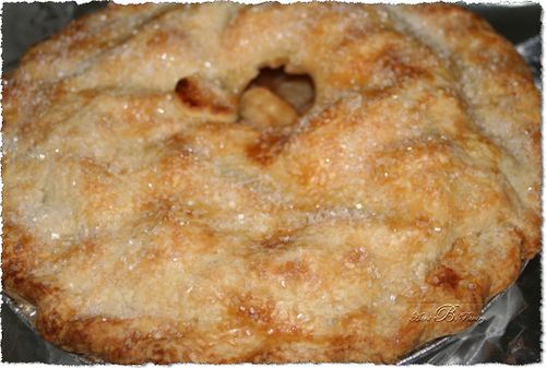 Aunt B's Homemade Old Fashioned Apple Pie