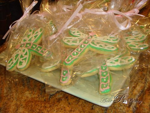 Dragon Fly Sugar Cookies by Aunt B's Pantry
