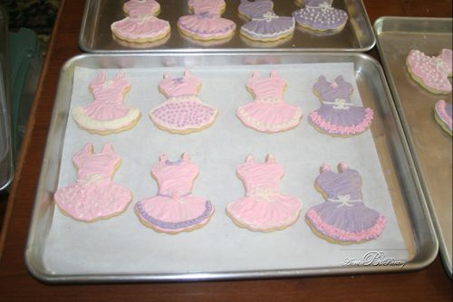 Sugar Cookies TuTus, by Aunt B's Pantry