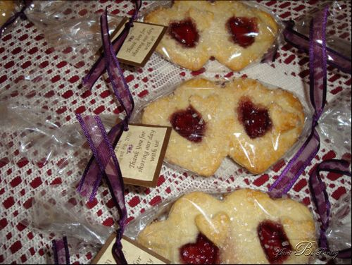 Jelly Cookie Wedding Favors