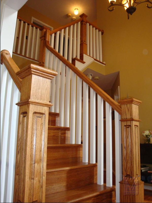 New Stair Railings Newel Posts Amp Balusters Mitre