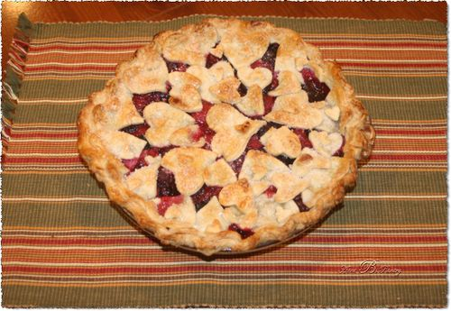 Triple Berry Pie, By Aunt B's Pantry