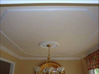 Dining room ceiling moulding