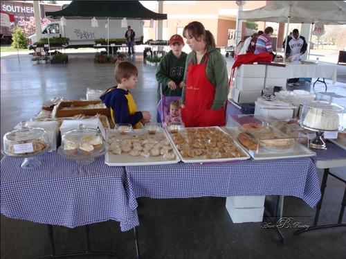 Our 1st Farmer's Market !