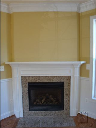 Mantel- final product