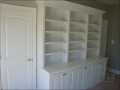 Office-Built-In Bookcase after painting