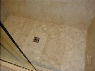 Bathroom Remodeling After Picture of Shower Mosaic Tilework
