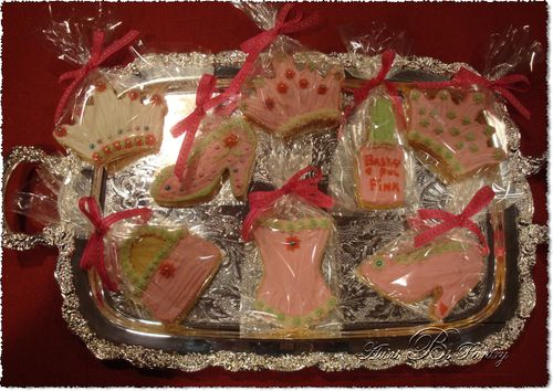 "Sugar Cookie Assortment for a ""Pink Party"""