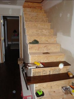 Old stairs to be torn out
