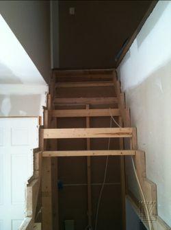 Previous contractors horrendous attempt at stairbuilding