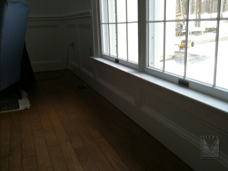 Wainscot-InstallPainted2