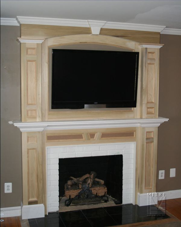 Mantel with OverMantel - MITRE CONTRACTING, INC.